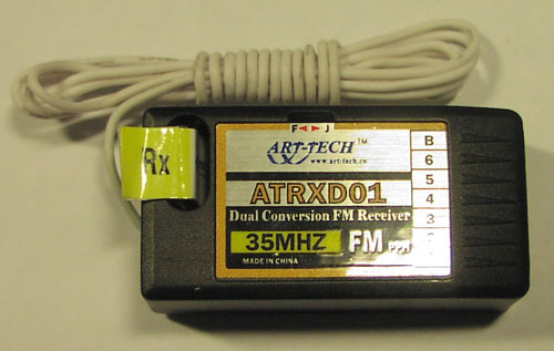 Art Tech Atrxd01 Dual Conversion 35mhz Ppm Measurements